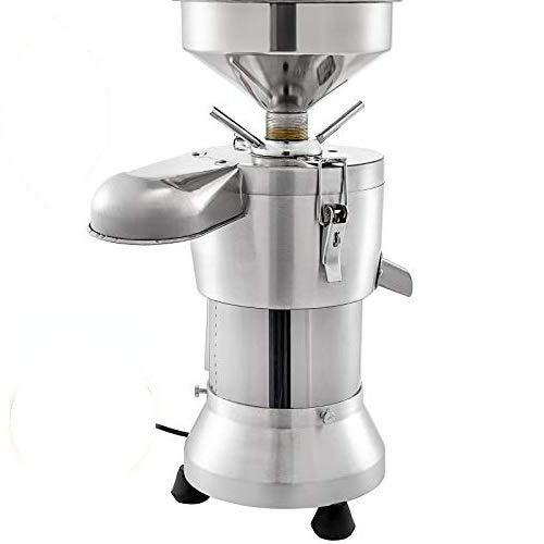 GIOEVO 1100W Macchina per la Produzione di Latte di Soia Elettrica 77 LBS/H Grinder Grinding Mill Machine Macchina in acciaio inossidabile Produttore di Latte di soia