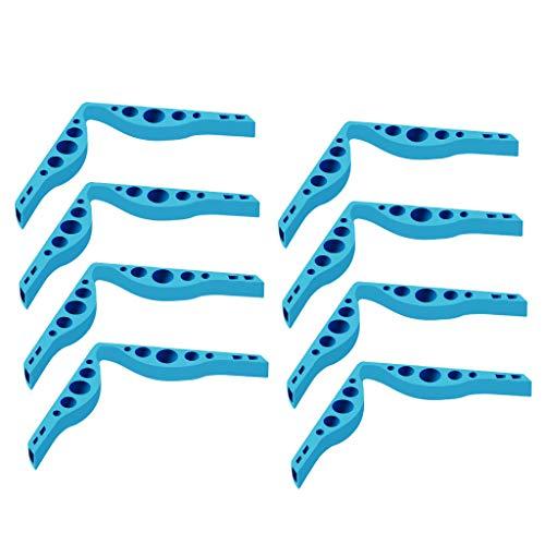 kashyk 2/8pcs Nasenbügel für Mundschutz,DE Versand Wiederverwendung Kieselgel bügel für Gesichtsmasken,Beschlagen Verhindern Für Brillenträger geeignet Damen und Herren