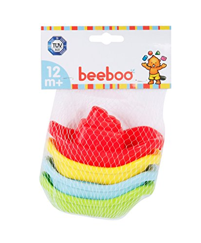 VEDES Großhandel GmbH - Ware Beeboo Net bébé Bain Bateaux (Lot de 4