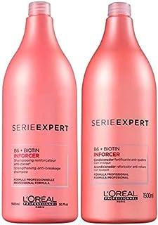 L'Oréal Inforcer Shampoo (1500ml) E Condicionador (1500ml)