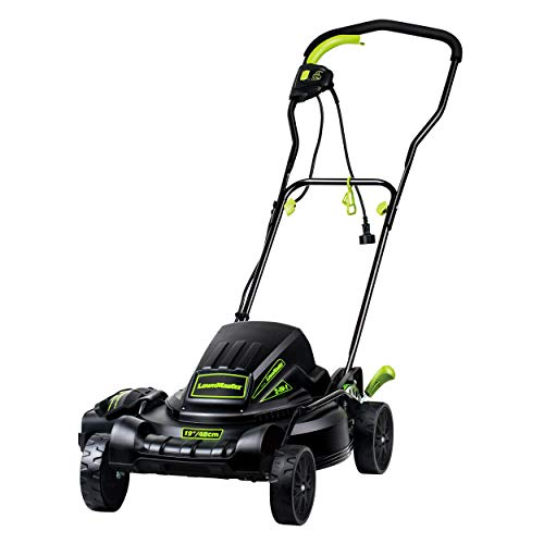 LawnMaster ME1018X 10-Amp Electric Mower, 18-Inch