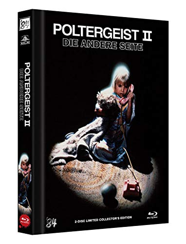 Poltergeist 2 - Die andere Seite - 2-Disc Limited Collector's Edition - Uncut - Mediabook, Cover A  (+ DVD) [Blu-ray]