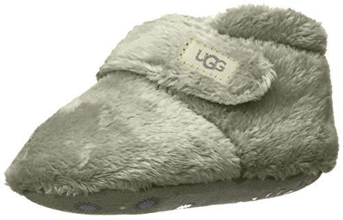 UGG Kids' Bixbee Ankle Boot, Charcoal, 0/1