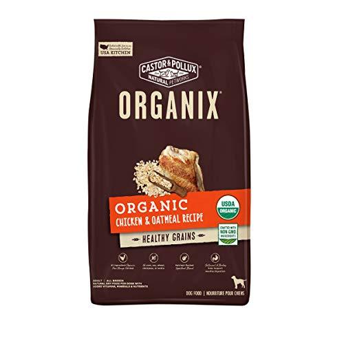 Castor & Pollux ORGANIX Organic Chicken & Oatmeal Recipe Dry Dog Food - 18 lb. Bag (35084)