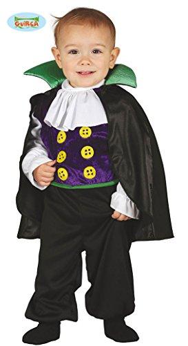 Guirca Costume Dracula vampiro baby carnevale halloween bambino 8701_ 1-2 anni