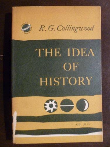 The Idea of History (Galaxy Books)