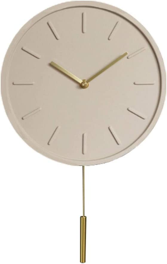 HONGFEISHANGMAO Lowest price challenge Wall Clocks Max 46% OFF New Decorative Modern Concrete