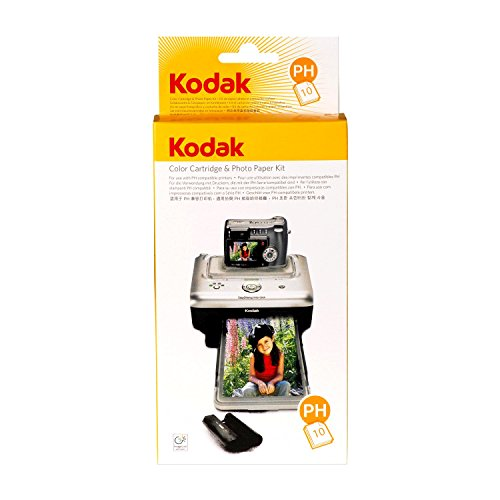 Price comparison product image KODAK PH-10 EasyShare Printer Dock Color Cartridge & Photo Paper Refill Kit