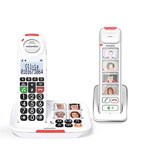 Teléfono con Cable Swissvoice Xtra 3155 + Timbre Flash 8155