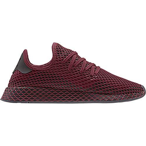adidas Zapatillas de gimnasia unisex Deerupt Runner, color Rojo, talla 38 2/3 EU