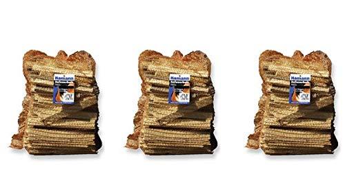 Anfeuerholz im 5,0 dm³ Netz 3 Stk. - eignet sich ideal zum Anfeuern von Holzbriketts oder Brennholz in Ihrem Kamin oder Ofen.