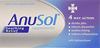 Anusol Soothing Relief Suppositories by Johnson & Johnson