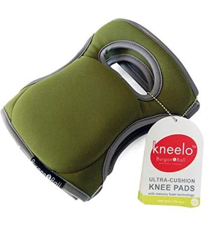Burgon & Ball GKN/KPADMOSS Memory Foam Garden Kneelo® Knee Pads - Moss