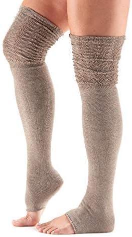 toesox Women's Thigh High Sasha Slouch Leg Warmer (Foxy) One Size