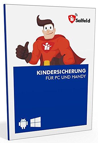 Salfeld Kindersicherung: Windows und Android Handy Kinderschutz Jugendschutz App mit Überwachung Zeitbegrenzung App Kontrolle und Internet Filter gegen Handysucht (3 Geräte / 24 Monate)