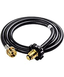 Coleman 5 Ft. High-Pressure Propane Hose and Adapter