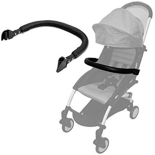 Barras de parachoques compatibles para cochecitos para Babyzen yoyo (Cuero de la PU)