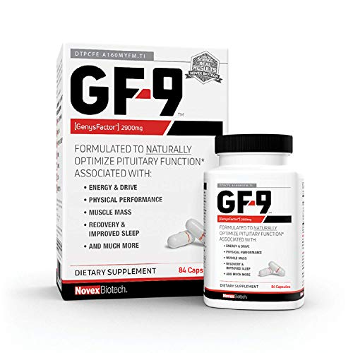 GF-9-84 Count - HGH Boosting Supplements for Men - Human Growth Hormone Booster for Men - HGH Booster for Men - Boost Critical Peptide That Supports Energy, Sex Drive, Physical Performance & More