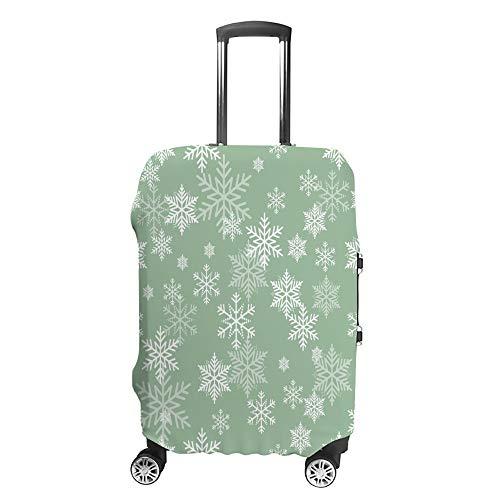 Cubierta de equipaje de viaje antiarañazos, funda protectora de equipaje, funda colorida Flora Fit accesorios lavables a prueba de polvo
