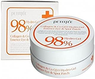 2a3d74105bb Petitfee 98% Hydro Gel Collagen & CoQ10 Hydrogel Eye Patch 60count
