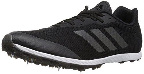adidas XCS Zapatillas de correr para hombre, Negro (Negro/Noche Metálico/Carbono), 45 EU