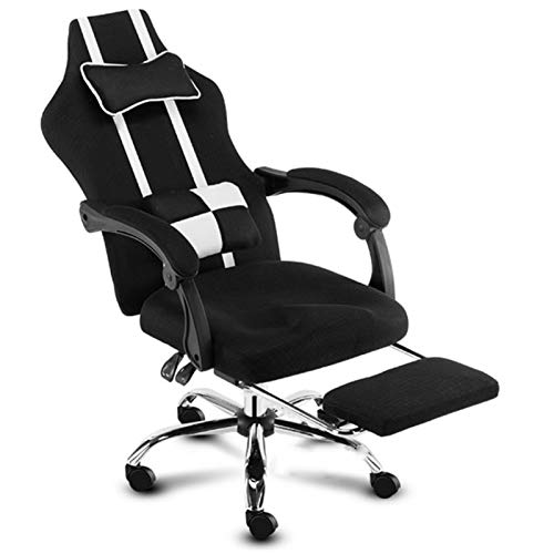 SQQSLZY Game Chair,Computer Chair,Lift Swivel Chair,Home Game Chair,Game Chair Racing Style Office Ergonomic Chair,Computer Game Chair Adjustable Height Swivel Chair