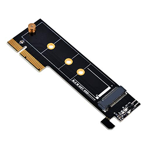 SilverStone M.2 SSDポート→PCIe x4変換インタフェースカード SST-ECM25