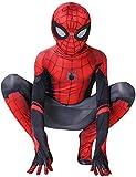 AZITEKE Spinnenmann Superheld - Cosplay Kostüm Erwachsene Kinder Spider-Man Halloween Kostüm...