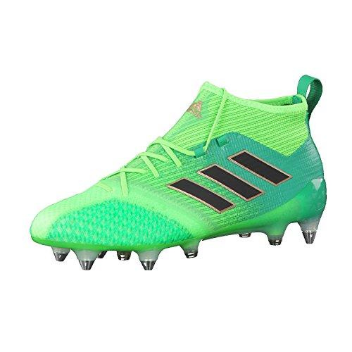 adidas Herren Ace 17.1 Primeknit Sg für Fußballtrainingsschuhe, Grün (Versol/Negbas/verbas), 42 EU