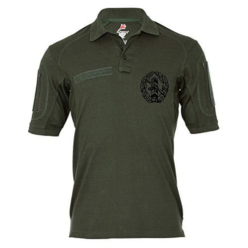 Copytec Tactical Poloshirt Alfa - DDR Grenztruppe NVA Schützenschnur Abzeichen #19212, Größe:3XL, Farbe:Oliv