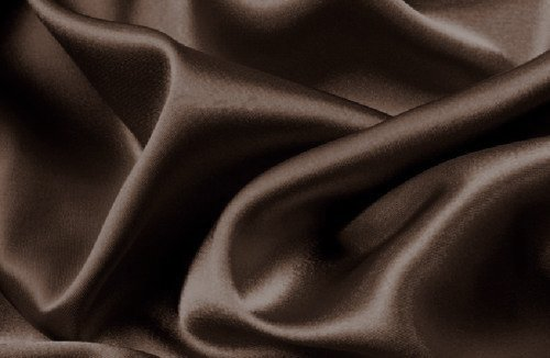 Mk Collection 4pc Soft Silky Satin Solid Color Deep Pocket Sheet Set (Brown/Coffee, Queen)