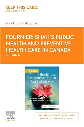 Shah's Public Health and Preventive Health Care in Canada Elsevier eBook on Vitalsource (Retail Access Card)
