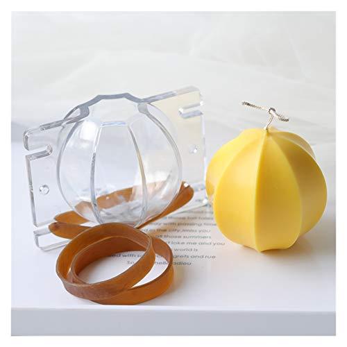 Seifenbasis Octagon Ball Form Kerzenform Acryl transparente Form Handgemachte Kerze machen Aromatherapie Gips Mold Home Decor