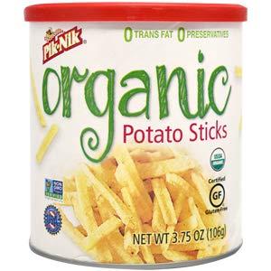 Pik-Nik Organic Potato Sticks 3.75 oz.