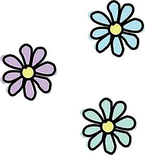 Magnet America Set of 4 Pastel Flower Pack