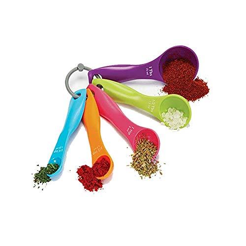 Superideal, Set de cucharas medidoras, varios colores (colores se envían al azar), 5 piezas