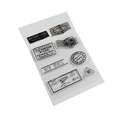 Hotaluyt Silicona PVC matasellos Transparente para la Tarjeta de Scrapbooking DIY Accesorios para Sellos
