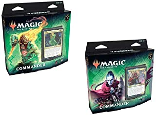 MTG Magic The Gathering Zendikar Rising Both 2020 New ZNC Commander Decks!