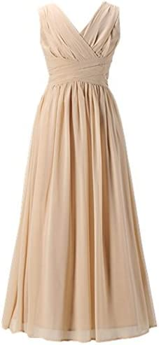 Happy Rose Flower Girl s Dress Party Dresses Juniors Long Bridesmaid Dress Champagne 10 product image