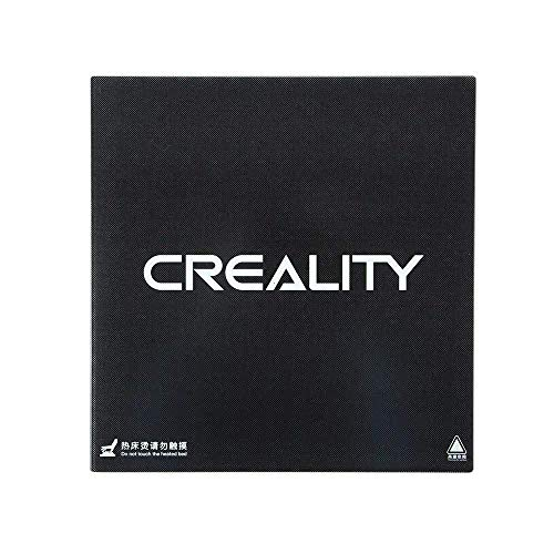 Creality 3D Original Glass Bed Build Surface (310 x 320mm) CR-10 V2 / CR-10S Pro/CR-10S Pro V2 / CR-X