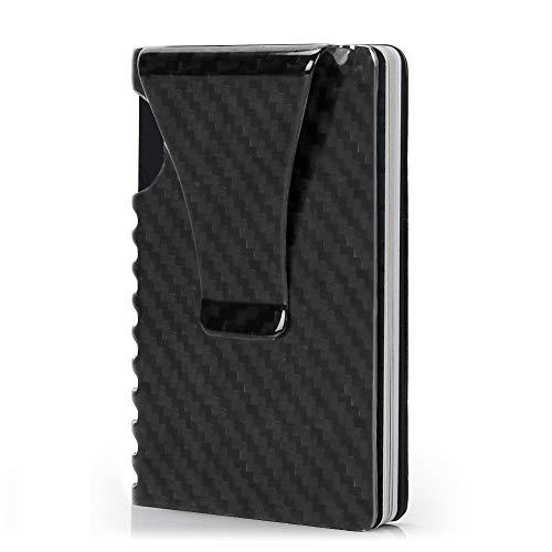 Money Clip Wallet, Slim Wallet for Men with Front Pocket RFID Blocking Card Holder