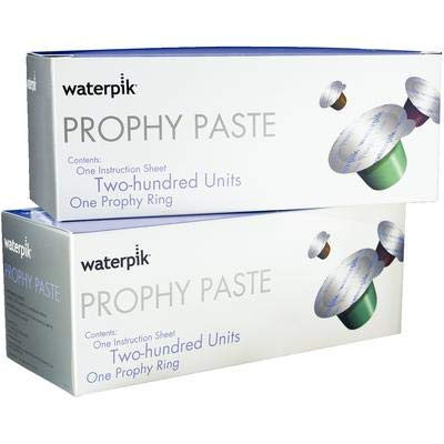 WTP Waterpik Prophy Paste Coarse Mint Pkg/200 Cups