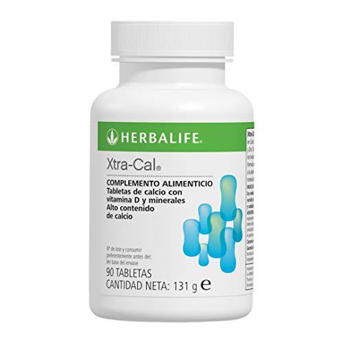Herbalife - Complemento Alimenticio Con Calcio + Vitaminas y Minerales Xtra-Cal 131 g