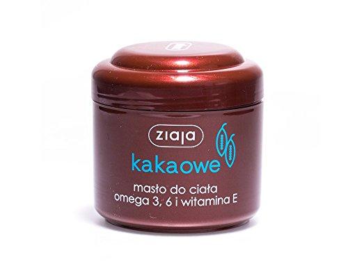Kakaobutter Regenerierende Körperbutter // Kakaowe maslo do ciala liporegeneracja skory 200 ml Ziaja