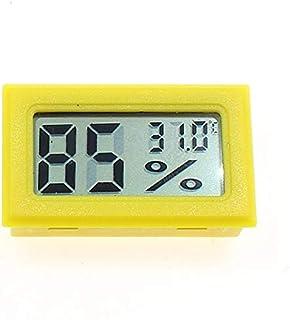 Higrómetro para Interior Pantalla LCD digital Indoor Conveniente Temperatura Sensor Higrómetro Sensor Refrigerador Termóme...