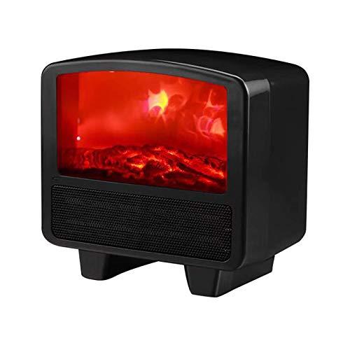 Rteanb Rápido portátil de calentamiento de ahorro de energía pequeño calentador de ventilador del escritorio del personal del acondicionador de aire Inicio Mini compartida Calentador Calentador Calent