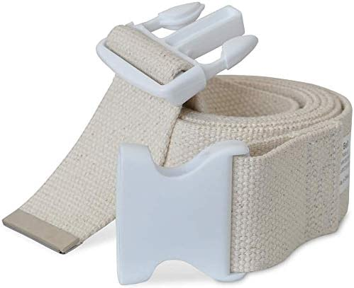 NYOrtho Plastic Buckle Large discharge sale Gait Belt - S Washable Machine Adjustable Store