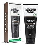 BROOKYLN SOAP COMPANY® · After Shave Balsam (75ml) · Natürliche Männerpflege nach der Rasur · lindert Hautreizungen, wirkt antibakteriell und beruhigt die Haut