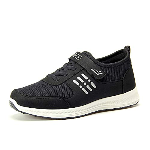 BOZEVON Unisex Mens Sneaker - Casual Running Walking Sneakers Shoes Middle-Aged