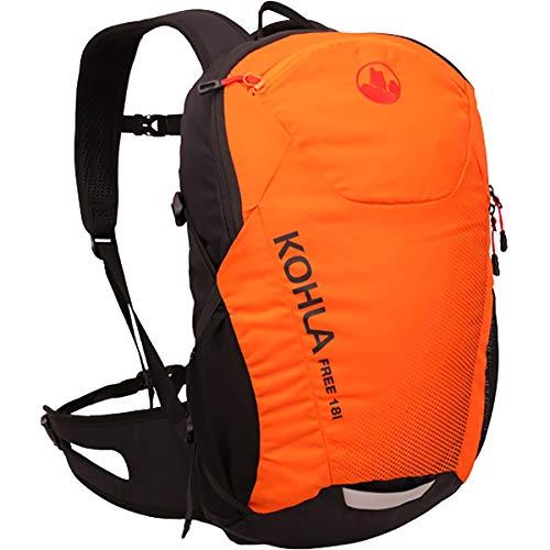 KOHLA Free 18 Rucksack, red orange-Flame Scarlet